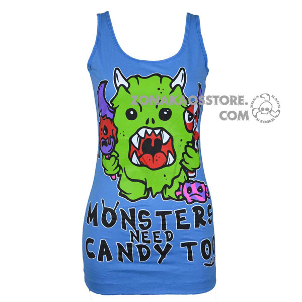 Canotta Monster Candy Cupcake Cult 5