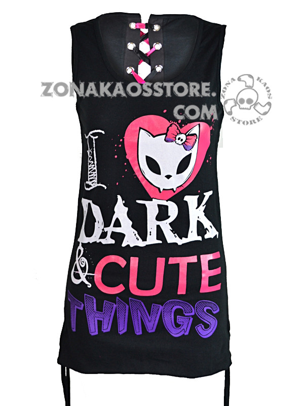 Vestito Dark Bye Bye Kitty 5