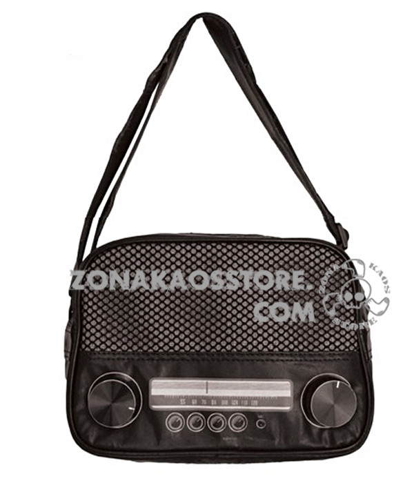 Borsa Tracolla Radio  Rock Daddy 1
