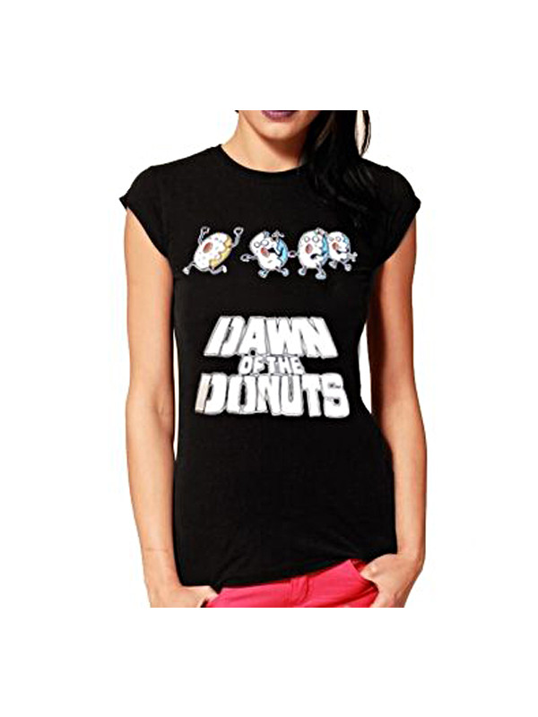 T-shirt Donna Down Of The  Donuts Flip Flops & Fangs 13