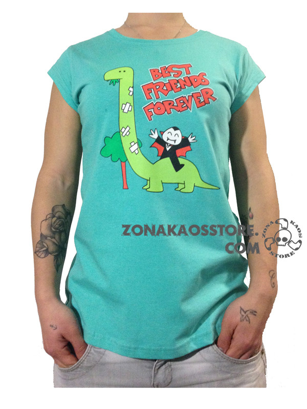 T-shirt Donna Down Of The  Donuts Flip Flops & Fangs 2