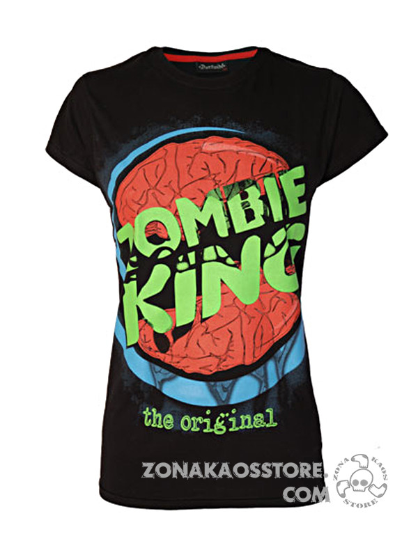 T-shirt Donna Zombie King Darkside 2