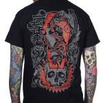T-shirt Deathsnake Toxico 2