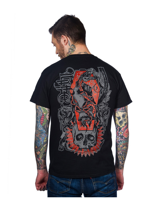 T-shirt Deathsnake Toxico 3