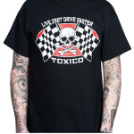 T-shirt Live Fast Toxico 2