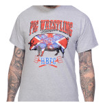 T-shirt Pig Wrestling Toxico