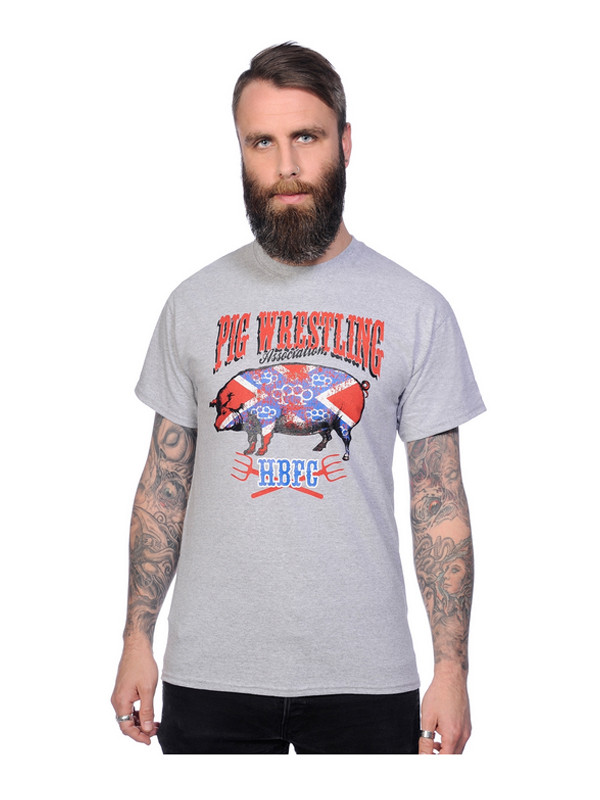 T-shirt Pig Wrestling Toxico 1
